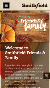Smithfield – Jingle In Your Pocket – Win a check valued at $5000.