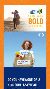 Sunny Delight – Sunnyd Show Your Bold Contest Sweepstakes