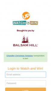 Up TV – Balsam Hill Chandler Christmas Getaway Watch & Win Giveaway – Win the following prize package