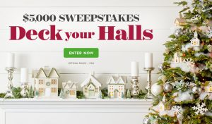 Meredith – Better Homes & Gardens – Deck Your Halls – Win a $5,000 check
