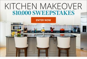 Meredith – Eating Well – Win a Kitchen Makeover valued at $10,000