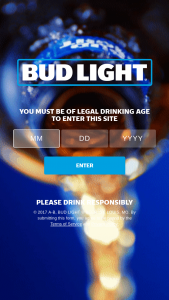 Anheuser-Busch – Bud Light Season Pass And Bud Light Super Ticket – Win one (1) $1000.00 pre-paid debit card