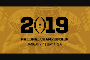 AT&T – Thanks College Football Playoff National Championship Vip Experience – Win a trip for the Winner and one guest of Winner