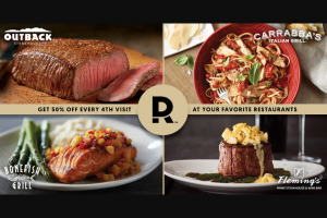 Bloomin' Brands – Dine Rewards Holiday Wish List Sweepstakes