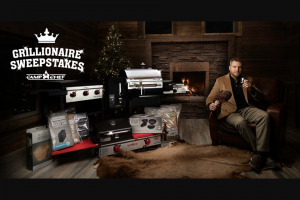 Camp Chef – Grillionaire Sweepstakes