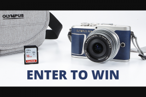 Crutchfield – Olympus Great Gear Giveaway December 2018 – Win one Olympus E-PL9 Kit (Camera
