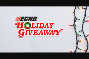 Echo USA – Cs-590 Timber Wolf Chain Saw Giveaway Sweepstakes