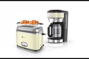 EXTRATV – Russell Hobbs Retro Coffee Maker & Slice Toaster Sweepstakes