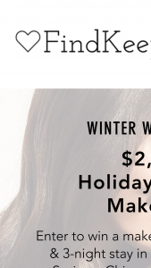 Findkeeplove – Holiday Miracle Makeover Sweepstakes
