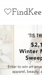 Findkeeplove – Winter Makeover – Win $338.