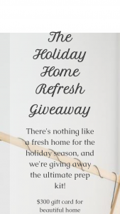 Innovation Brands – Holiday Home Refresh Giveaway Sweepstakes