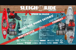 Jackson Kayak – Sleigh Ride Sweepstakes