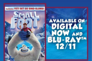 Jlab Audio – Smallfoot – Win one JBuddies Studio Over Ear Folding Kids Headphones (MSRP $20) and one digital copy of SMALLFOOT (MSRP $24.99).