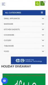 Kitchen Collection – Holiday Giveaway Sweepstakes