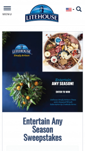 Litehouse – Entertain Any Season Sweepstakes