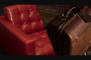 Moore And Giles – Home & Play The Parker Giveaway – Win includes Parker Chair by American Leather & Parker Rolling Suitcase by Moore & Giles