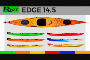 Paddlingcom – Riot – Win the Riot Kayaks Edge 14.5.