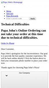 Papa John's – Papa Dough Sweepstakes