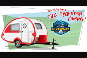 Pleasant Valley Teardrop Trailers – Winter 2019 Tab Giveaway – Win TAB 320S Teardrop Camper (ARV $21733).