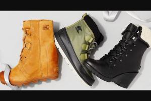 Popsugar – Sorel Boot Get Gifted Giveaway – Win twelve (12) pairs of SOREL footwear