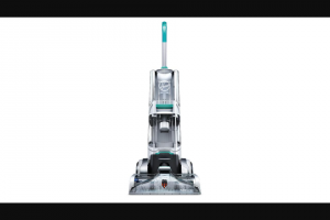 Rachael Ray – Hoover Smartwash Carpet Cleaner – Win a gift card coupon certificate or voucher