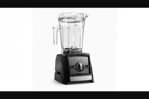 Rachael Ray – Vitamix Ascent Series A2500 Blender – Win a gift card coupon certificate or voucher