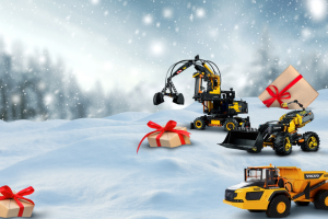 Volvo Construction Equipment – 12 Days Of Christmas Sweepstakes