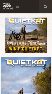 Wide Open Spaces – Quietkat E-Bike Sweepstakes