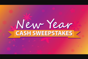 ABC – The View's New Year Cash – Win A check in the amount of $5000 from Sponsor (or its parent company) within six weeks of receiving completed paperwork from winner
