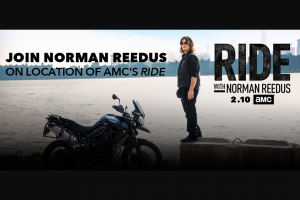 Amc Network – On Location With Norman Reedus – Win or any other form of compensation if actual value of prize is less than the Grand Prize ARV in these Official Rules