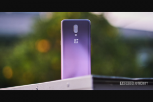 Android Authority – Oneplus 6t International Giveaway – Win a OnePlus 6T