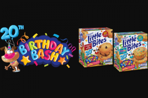 Bimbo Bakeries – Entenmann's Little Bites 20th Birthday Bash – Win a $500 VISA gift card which may be used to create the ultimate birthday party for their child(ren) and their friends