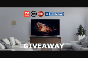 CBSI Chowhound – Ultimate Big Game Party Giveaway – Win one LG OLED65C8PUA 65-inch TV one Chefman 6.5 Liter/6.8 Quart Air Fryer with Space Saving Flat Basket and one US$125.00 in CBS All Access gift cards