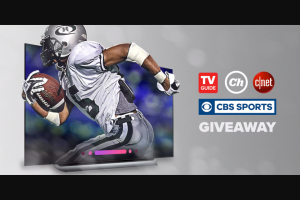 CNET – Big Game Giveaway – Win LG OLED65C8PUA 65-inch TV one (1) Chefman 6.5 Liter/6.8 Quart Air Fryer with Space Saving Flat Basket and one (1) One Hundred Twenty-Five Dollars (US$125.00) in CBS All Access gift cards