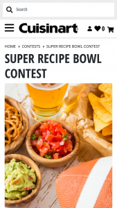Cuisinart – Super Recipe Bowl Contest – Win a 7-Quart Cook Central Multicooker