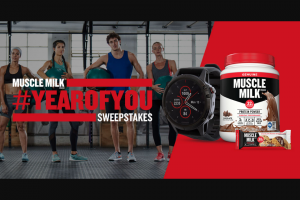Cytosport – Muscle Milk Brand Year Of You – Win one Garmin fenix 5 Plus and one year supply of MUSCLE MILK product