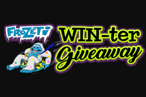 Dippin' Dots – Frozeti Winter Giveaway – Win redeemable for twelve Dippin' Dots home delivery shipments each home delivery shipment consisting of one 30-serving kit which shall include one bulk bag (approx