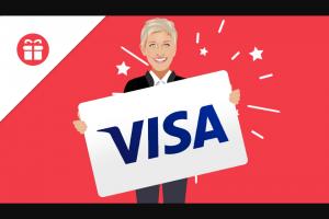Ellen – Win A $300 VISA Gift Card Sweepstakes