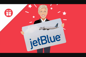 Ellen – Win 2 Round-Trip Tickets On Jetblue Sweepstakes