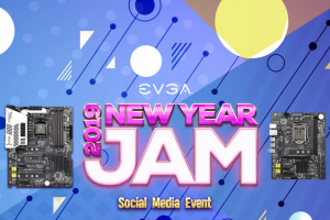 EVGA – New Year's Jam Social Media Event Sweepstakes