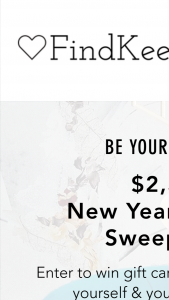 Findkeeplove – $2500 New Year New You – Win consisting of all the following    2 Pairs of Shoes from Athletic Propulsion Labs Cash/Retail Value $400.