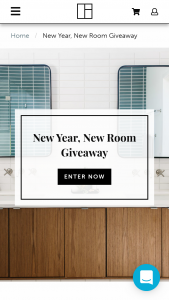 Fireclay Tile – New Year New Room Giveaway Sweepstakes