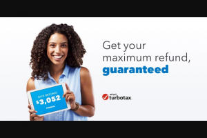 Intuit Turbotax – $25000 – Win awarded in the form of a check
