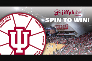 Jiffy Lube – Spin To Win Sweepstakes