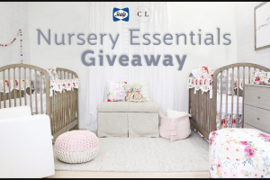 Kolcraft – Sealy Baby And Caden Lane Giveaway – Win will be awarded a Sealy Baby Soybean Foam-Core Crib & Toddler Bed Mattress the Sealy Baby Quilted Fitted Crib Mattress Pad with Organic Cotton Top and a three-piece set from Caden Lane