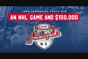 Kraft – Hockeyvilletm USA 2019 Contest Sweepstakes