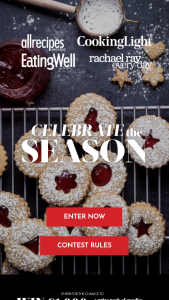 Meredith – Celebrate The Season – Win (1) $1000 USD awarded in the form of a check