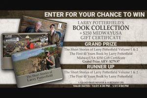 Midwayusa – 2019 Larry Potterfield's Short Stories Sweepstakes
