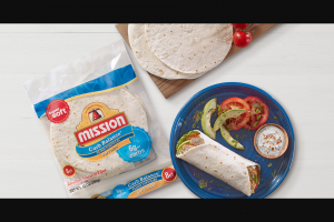 Mission Foods – New Year Better Choices Sweepstakes