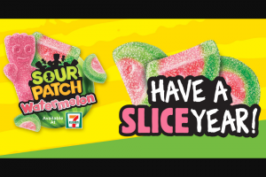 Mondelez Global – Win Free Sour Patch Kids For A Year Sweepstakes